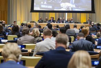Representantes de países-membros das Nações Unidas se reuniram na tarde desta terça-feira para ouvir a segunda apresentação de candidatos à Secretaria-Geral da ONU.Foto: ONU/Manuel Elias