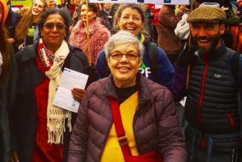 Carmen Barroso (ao centro). Foto: Arquivo pessoal
