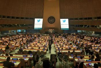 Abertura da Conferência dos Líderes do Pacto Global da ONU, em Nova York. Foto: Pacto Global