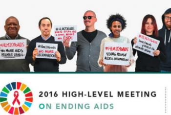 Reunião de Alto Nível sobre o Fim da Aids começa nesta quarta-feira na sede da ONU, em Nova York. Imagem: Unaids