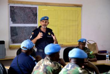 O Comandante da Polícia das Nações Unidas na República Centro-Africana, Luís Carrilho.Foto: ONU/Nektarios Markogiannis