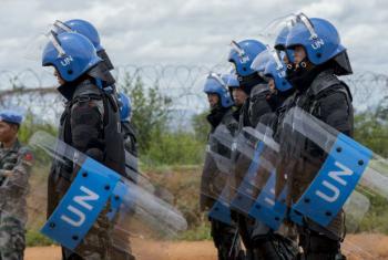 Polícias das Nações Unidas em Juba, Sudão do Sul. Foto: ONU/JC McIlwaine