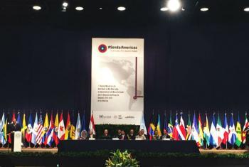 1ª reunião ministerial de alto nível sobre a implementação da Plataforma de Sendai.Foto: Rádio ONU/Carla García