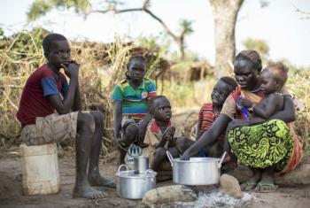 Quase 90% dos refugiados são mulheres e crianças. Foto: Acnur/Rocco Nuri