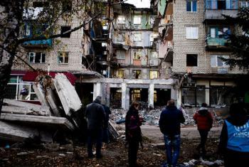 Desde o início do conflito na Ucrânia, mais de 9,3 mil pessoas morreram e mais de 21,5 mil ficaram feridas na região leste do país.Foto: Acnur