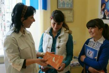 Serviços de saúde devem garantir o respeito dos jovens à privacidade e à confidencialidade.Foto: Unfpa