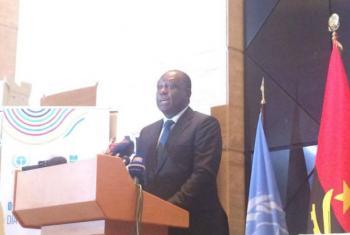 Manuel Vicente, vice-presidente de Angola. Foto: Rádio ONU/Eleuterio Guevane