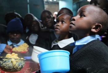 Ponto alto da celebração do Dia Africano de Alimentação Escolar será em Brazzaville. Foto: PMA/Challiss McDonough
