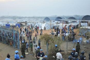Instalações das Nações Unidas em Juba. Foto: ONU/Isaac Billy (arquivo)