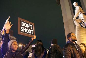 Manifestantes protestam em Nova York após a morte do adolescente negro Michael Brown, em 2014. Foto: Jacques Baudrier (arquivo)