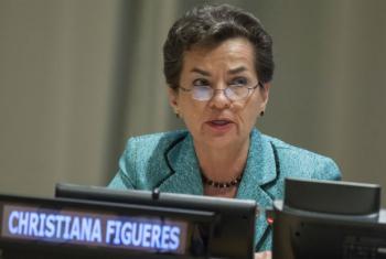 Christiana Figueres. Foto: ONU/Loey Felipe