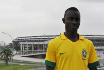 O jovem guineense Abdoulaye Kaba. Foto: Acnur