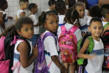 Combate à violência e ao bullying nas escolas.Foto: Banco Mundial