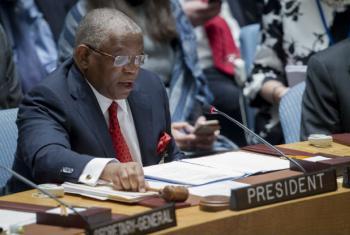 Georges Chikoti. Foto: ONU/Manuel Elias