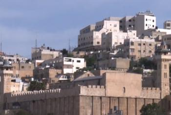 Hebron. Foto: Reprodução vídeo Unrwa