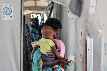 Deslocados sul-sudaneses. Foto:: OIM 2016