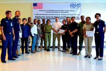 Participantes do projeto em Dili, no Timor-Leste. Foto: OIM 2016
