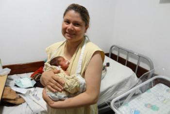 Na América Latina e Caribe, 93% dos partos são assistidos por profissionais de saúde. Foto: Banco Mundial