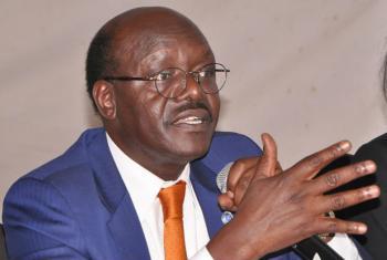 """O secretário-geral da Unctad, Mukhisa Kituyi, disse que é preciso """"encontrar um equilíbrio entre o presente e o futuro porque a dívida é perigosa quando insustentável"""". Foto: Unctad/Nicholas Simiyu"""