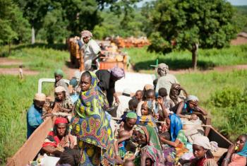 A crise na República Centro-Africana, que começou em 2013, foi desencadeada por violência intercomunitária e levou a deslocamento forçado em massa.Foto: OIM/Catianne Tijerina