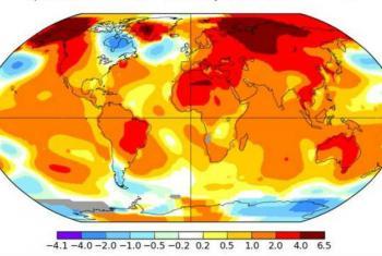Junho de 2018 foi segundo mês mais quente já registrado.