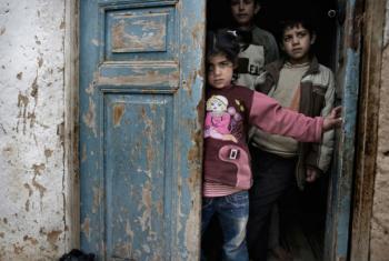 Crianças sírias. Foto: Unicef/NYHQ2012-0218/Alessio Romenzi