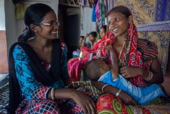 Semana Mundial da Amamentação. Foto: Unicef/Prashanth Vishwanathan