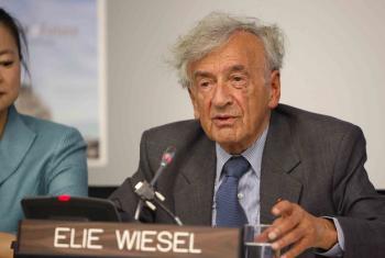 Família de Elie Wiesel, 87, disse que ele morreu em paz após doença prolongada. Foto: ONU//Paulo Filgueiras.