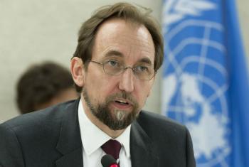 Zeid Al Hussein falou no Conselho de Direitos Humanos. Foto: ONU/Jean-Marc Ferré