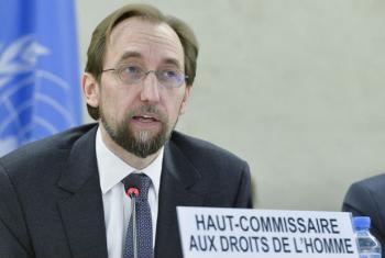 O alto comissário da ONU para os Direitos Humanos, Zeid Al Hussein. Foto: ONU/Jean-Marc Ferré