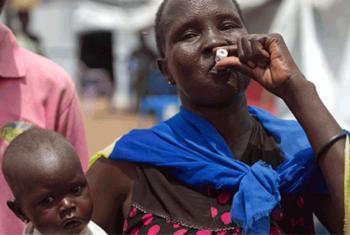 Uma força-tarefa nacional foi criada e está a fornecer supervisão e coordenação para a resposta ao cólera.Foto: OMS/Ali Ngethi