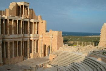 Sítio arqueológico de Sabratha, na Líbia. Foto: Unesco/G. Boccardi