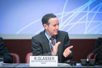Robert Glasser lança a campanha na ONU. Foto: : UNISDR