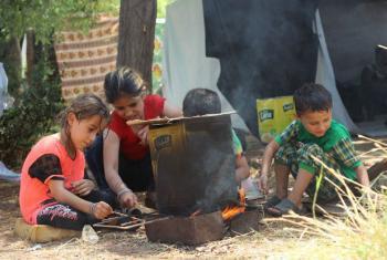 Crianças em Alepo, na Síria. Foto: Unicef/Khuder Al-Issa