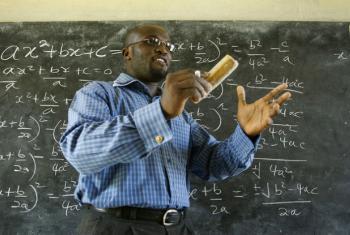 Formação de professores na Guiné-Bissau. Foto: Banco Mundial/Jonathan Ernst