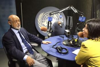 Domício Proença Filho. Foto: Rádio ONU