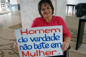Maria da Penha. Foto: Banco Mundial