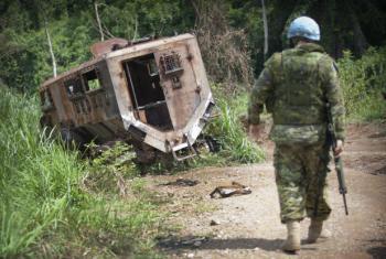 Missão da ONU na República Democrática do Congo. Foto: ONU/Sylvain Liechti