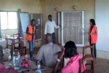 Formação de professores em Moçambique. Foto: OIM