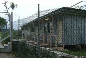 Centro para Refugiados em Nauru. Foto: UNHCR/N. Wright