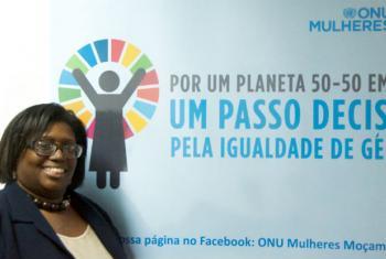Leisa Perch. Foto: Rádio ONU/Ouri Pota