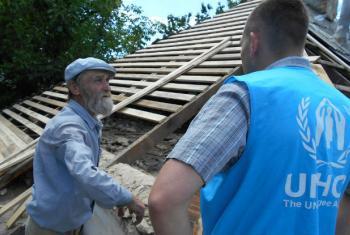 Entrega de ajuda na Ucrânia. Foto: Acnur/Daria Volkova