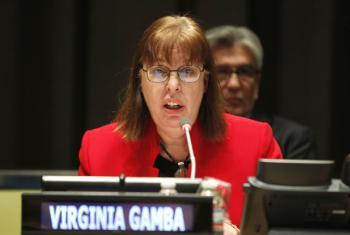 Virginia Gamba. Foto: ONU/Amanda Voisard