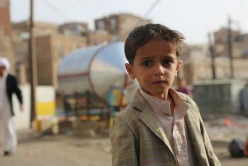 Criança iémenita. Foto: Ocha/Charlotte Cans