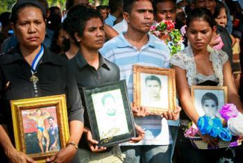 Grupo reportou mais de mil novos casos de desaparecimento forçado em 36 Estados. Foto: ONU/Martine Perret.