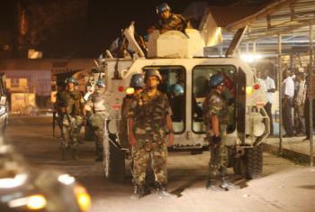 Monusco fala de resposta robusta guiada pelo mandato da operação de paz .Foto: Monusco/Myriam Asmani
