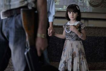 Criança em hopital em Alepo, na Síria. Foto: Unicef/Alessio Romenzi