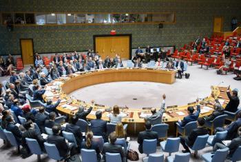 Membros do Conselho de Segurança da ONU adotam unanimemente a resolução 2309 (2016) sobre segurança na aviação. Foto: ONU/Rick Bajorna