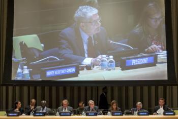 Encontro na sede da ONU sobre a Responsabilidade de Proteger. Foto: ONU/Cia Pak