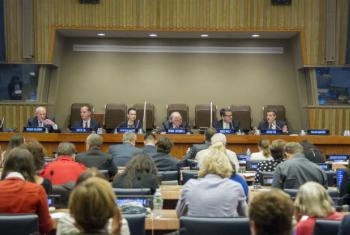 Encontro ocorreu na sede da ONU em Nova York. Foto: ONU/JC McIlwaine